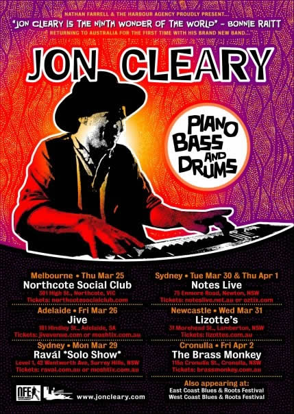 Jon Cleary - Tour Poster.JPG